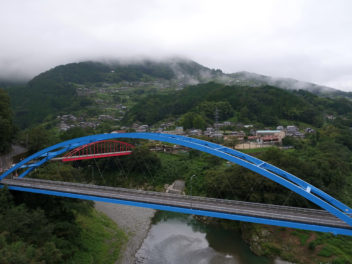徳島県祖谷 ドローン空撮