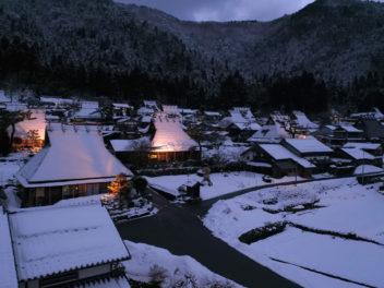 京都美山ドローン空撮