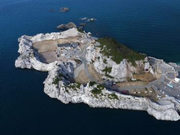 和歌山県白崎海洋公園 ドローン空撮