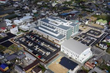小豆島中央病院 ドローン空撮